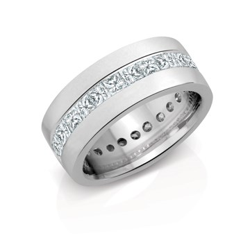 Custom mens wedding ring